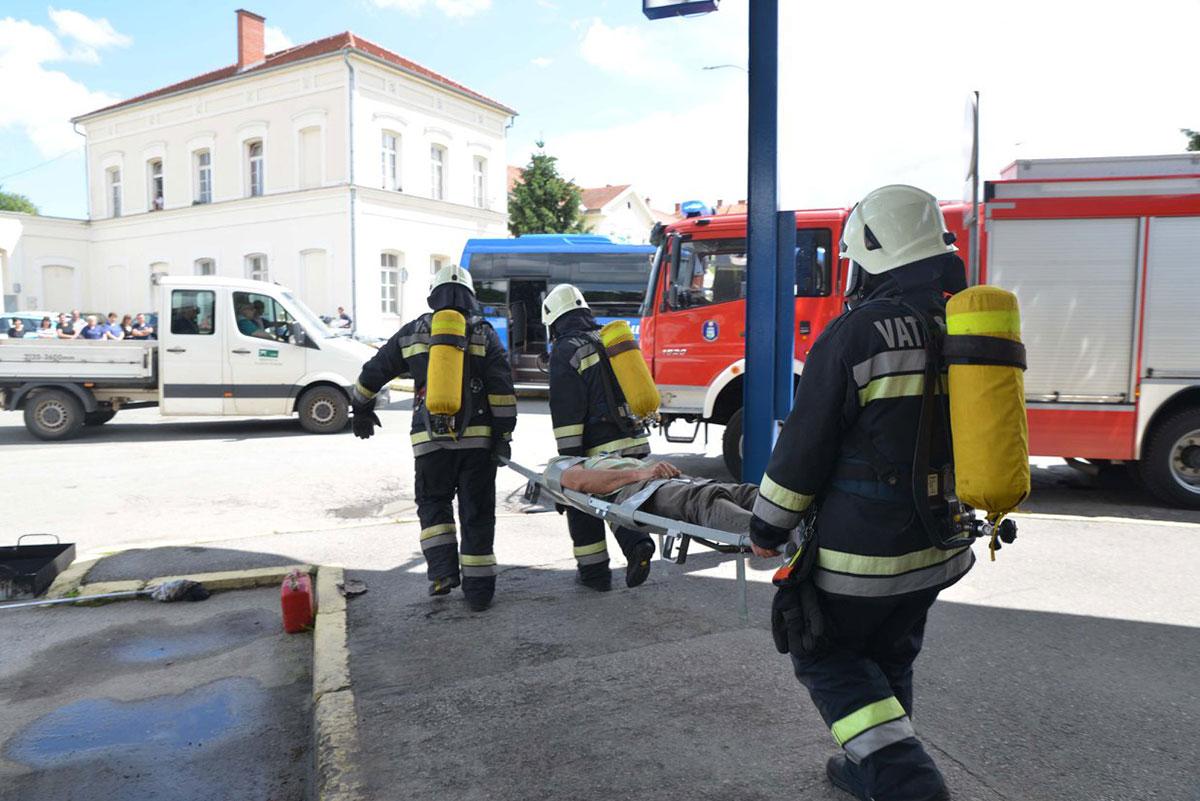 Vježba - Autobusni Kolodvor Sisak 2018.