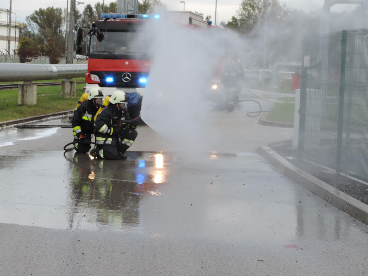 Vatrogasna vježaba TE-TO Sisak