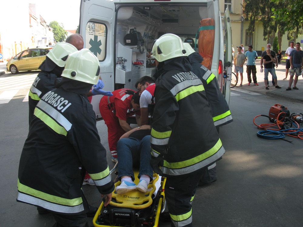 Intervencije JVP - Spašavanje unesrećenih