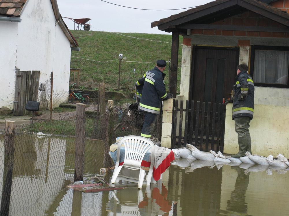 Intervencije JVP - Poplava