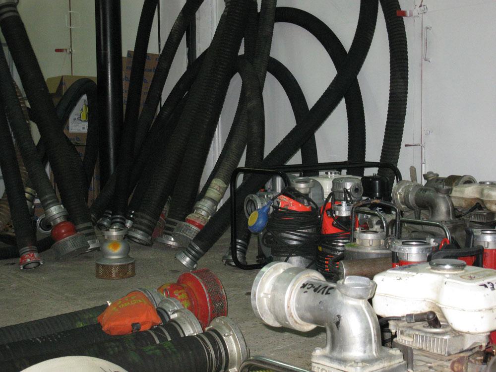 Intervencije JVP - dio opreme