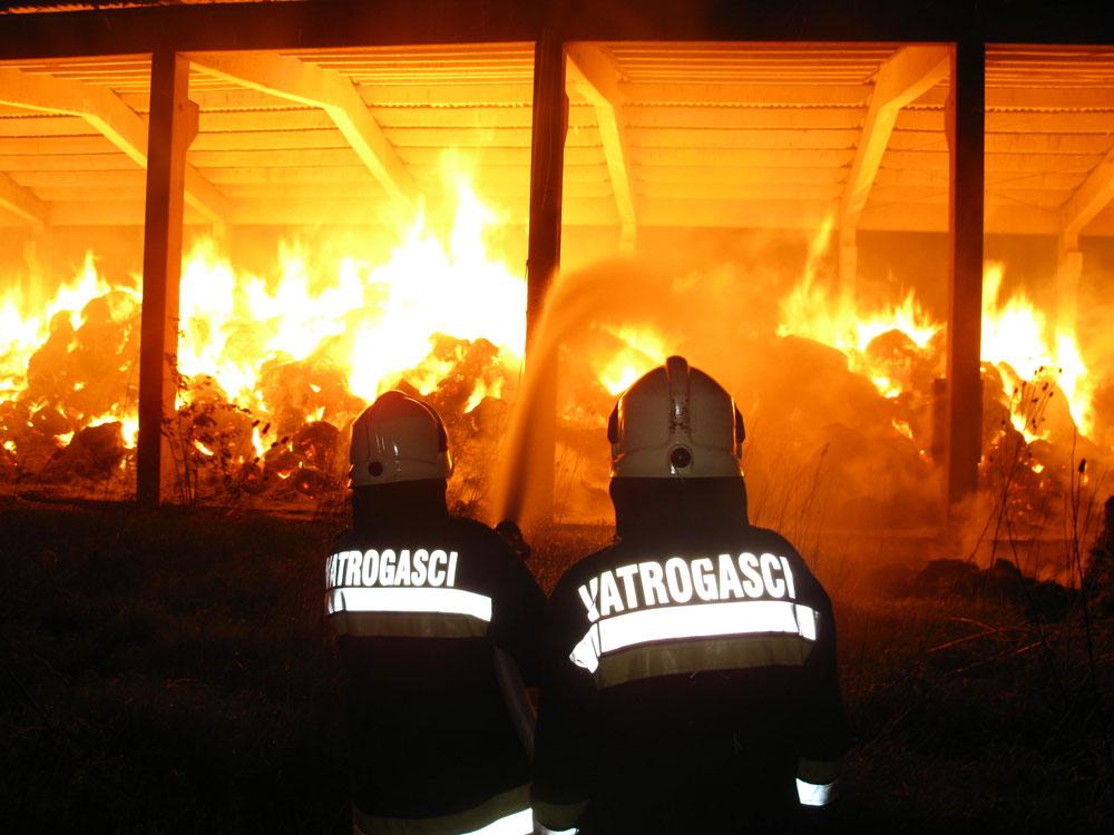 Intervencije JVP - Požar